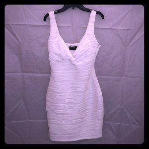 NWT Guess white sleeveless stretch dress